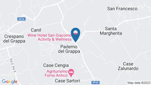 Wine Hotel San Giacomo Activity & Wellness Map