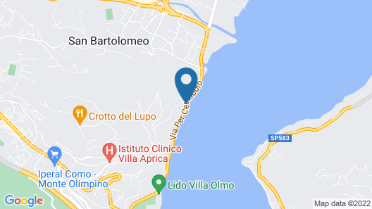 Hotel Villa Flori Map