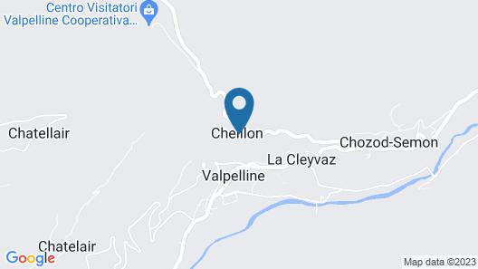 Le Petit Relais Map
