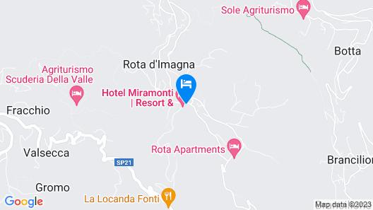 Hotel Resort & Spa Miramonti Map