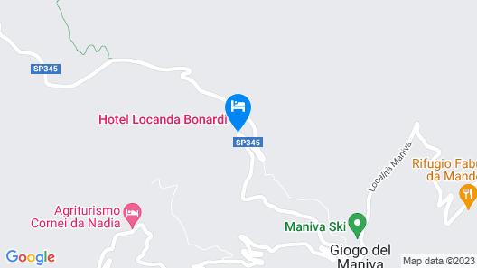 Hotel Locanda Bonardi Map