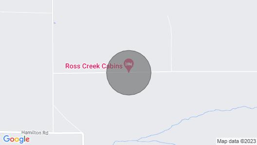Ross Creek Cabin #5 Spectacular Mountain Views Map