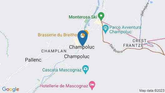 Hotel Castor Map