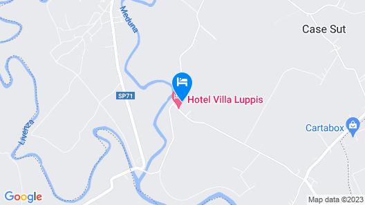 Hotel Villa Luppis Map