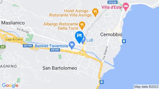 La Casa Dell'Arcobaleno Map
