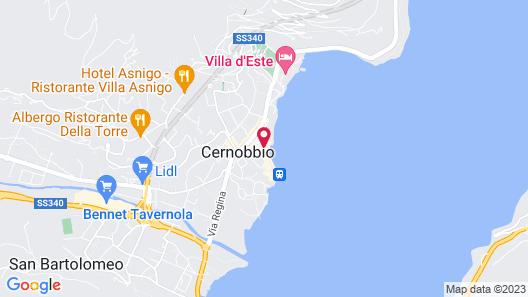 Hotel Miralago Map