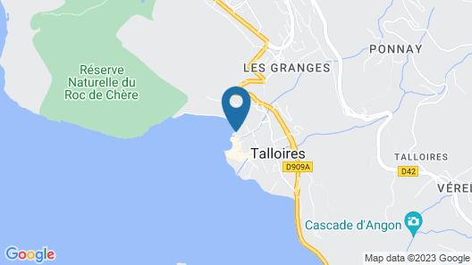L Abbaye De Talloires Map