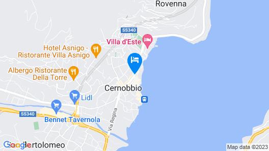 Albergo Ristorante Giardino Map