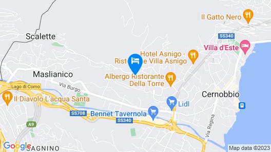 Altido Casa Morencino - Private Parking Map