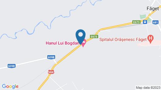 Hanul lui Bogdan Map