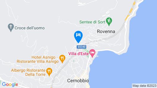 Cernobbio Lake View Map