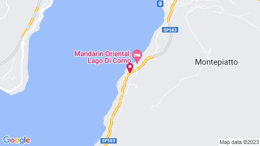 Mandarin Oriental, Lago di Como Map