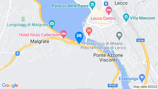 Clarion Collection Hotel Griso Lecco Map