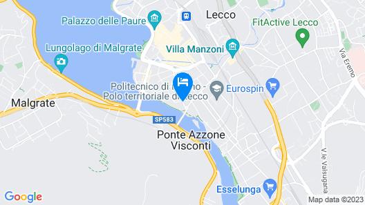 NH Lecco Pontevecchio Map