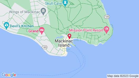 Chippewa Hotel Waterfront Map