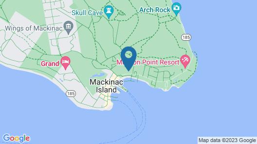 Island House Hotel Map