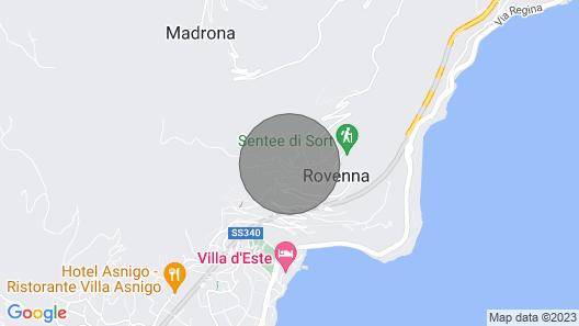 Apartment Lilia's Home - Cernobbio Map