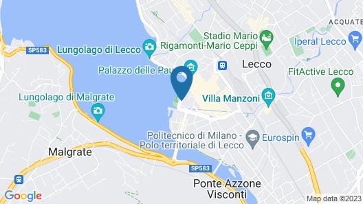 Hotel Alberi Map