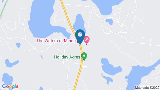 The Waters Of Minocqua Map