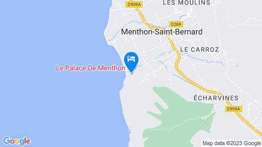 Palace de Menthon Map