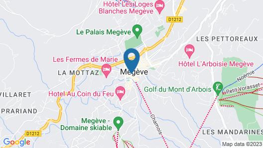 Hotel Mont-Blanc Map