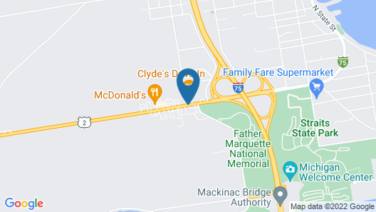 Voyager Inn Map
