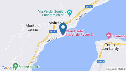 Grand Hotel Imperiale & Resort Map