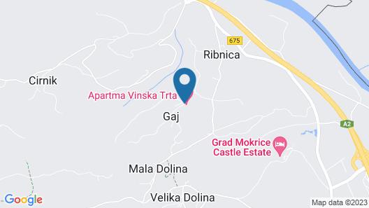 Apartments Vinska Trta Map