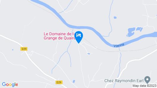 Le Domaine de la Grange de Quaire Map
