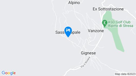 Villa Rita sulle colline di Stresa Map