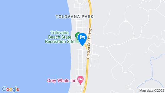 Tolovana Inn Map