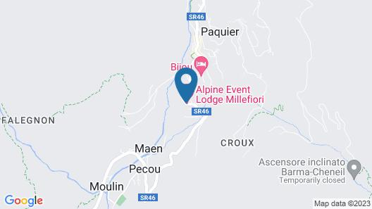 Hotel Millefiori Map