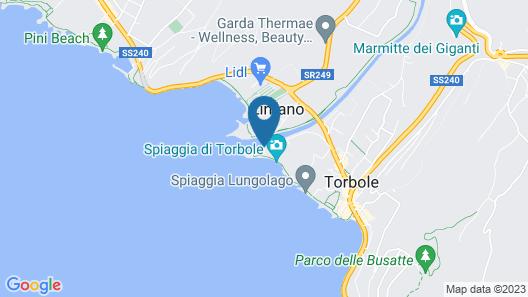 Hotel Lido Blu Surf & Bike Map
