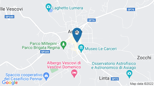 Asiago Sporting Hotel & Spa Map