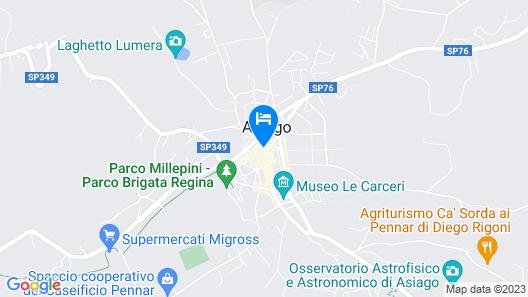 Hotel Croce Bianca Map