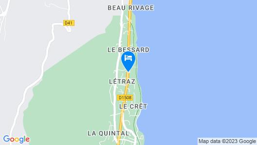 Black Bass Hotel Map