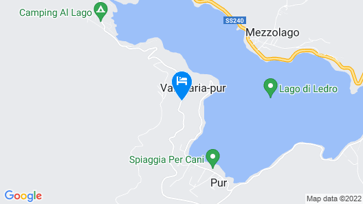 Stunning Holiday Home in Pieve di Ledro Near Lake Pur Map