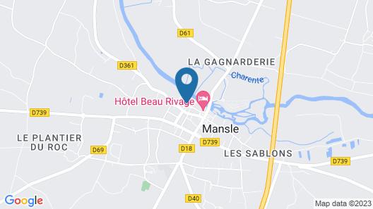 La Fontaine des Arts Map