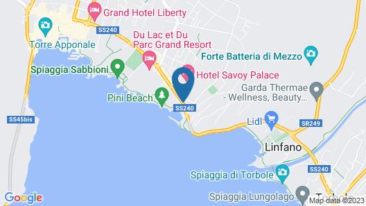 Lake Front Hotel Mirage Map