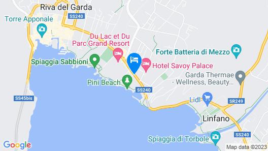 Hotel Brione Green Resort Map