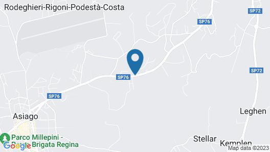 Albergo Rendola Map