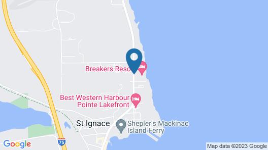 Breakers Resort & Beach Bar Map