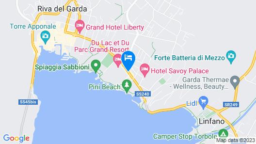 Parc Hotel Flora Map