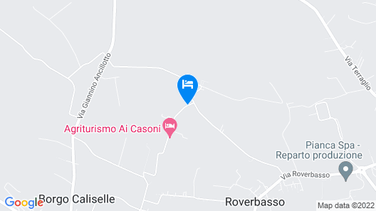 Ai Casoni Map