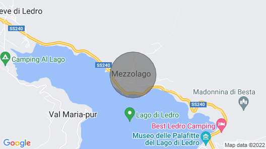 2 Bedroom Accommodation in Ledro Map