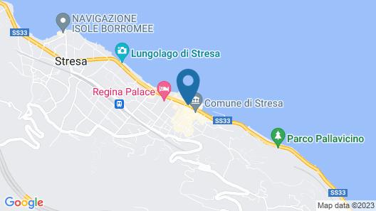 Hotel Milan Speranza Au Lac Map