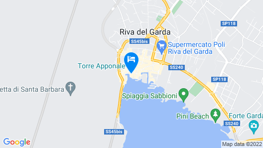 Hotel Sole Relax & Panorama Map