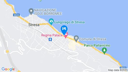 Hotel Astoria Map