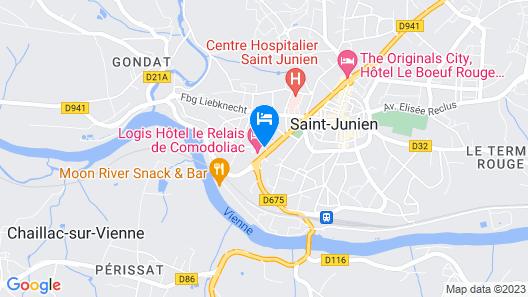 Le Relais de Comodoliac Map