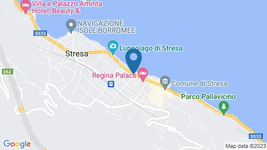 Hotel La Palma Map